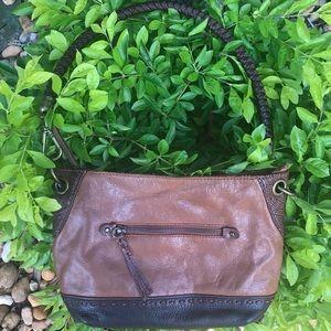 EUC The Sak - Brown leather purse ,